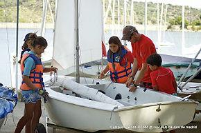 Campamento vela verano Madrid nautico.jp