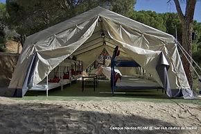 Campamento vela Madrid San Juan aventura