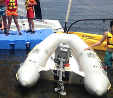 barco club vela eves laser pico datos tecnicos eslora manga alquiler