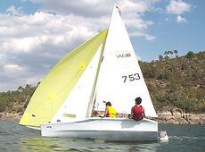 barco club vela eves laser vago datos tecnicos eslora manga alquiler