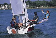 alquiler barco club vela eves laser stratos datos tecnicos eslora manga