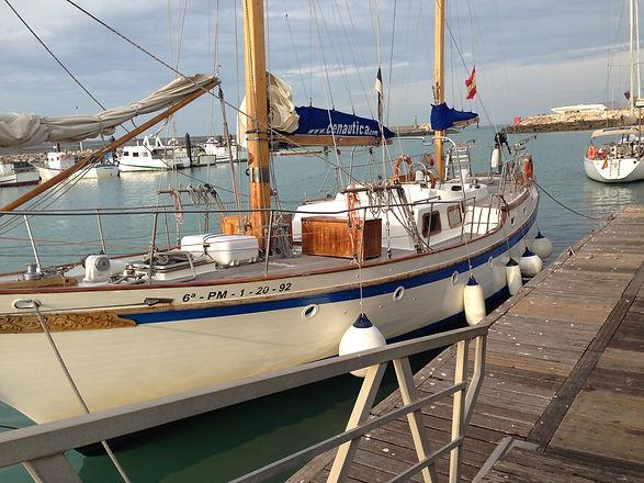 curso maniobra puerto iniciacion crucero mar escuela Madrid Eves cenautica nautica