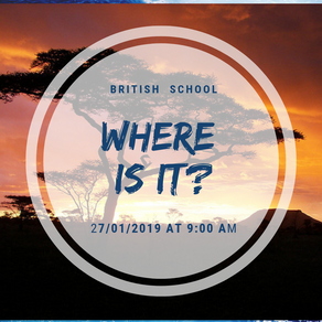 British School 27/01/2019 at 9:00 AM