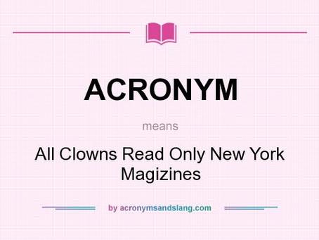 Акронимы