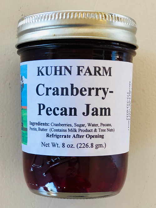 Kuhn Farm Cranberry-Pecan Jam (Large)