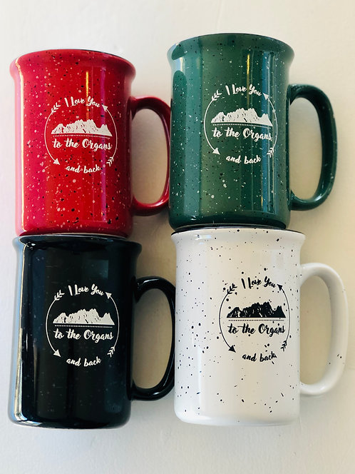 """I Love You To The Organs & Back"" Coffee Mug"