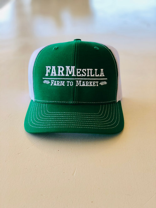 FARMesilla Wheat Logo Trucker Hat