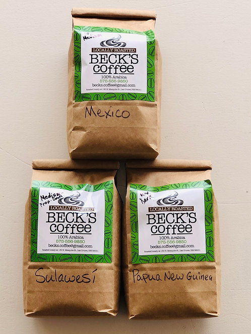 Beck's Locally Roasted Whole Bean Coffee