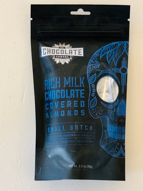 Chocolate Cartel Milk Chocolate Covered Almonds