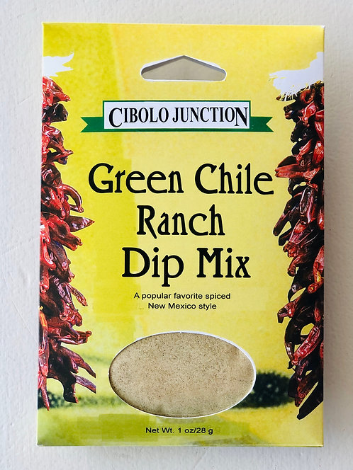Cibolo Junction Green Chile Ranch Mix