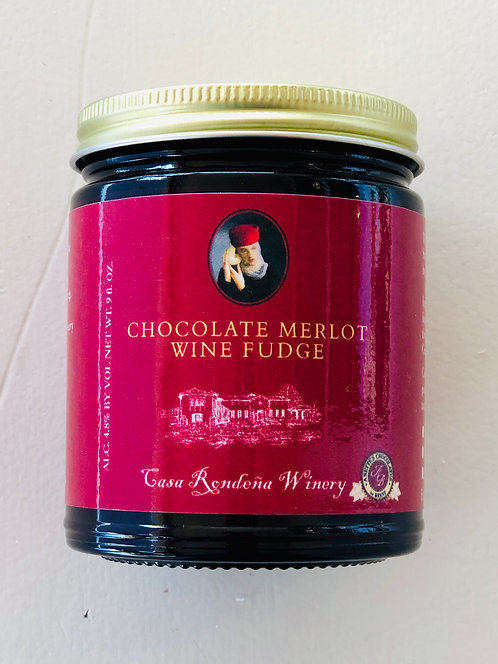 Casa Rondena Chocolate Merlot Wine Fudge
