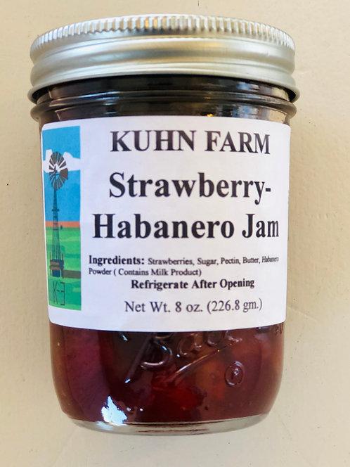 Kuhn Farm Strawberry-Habanero Jam