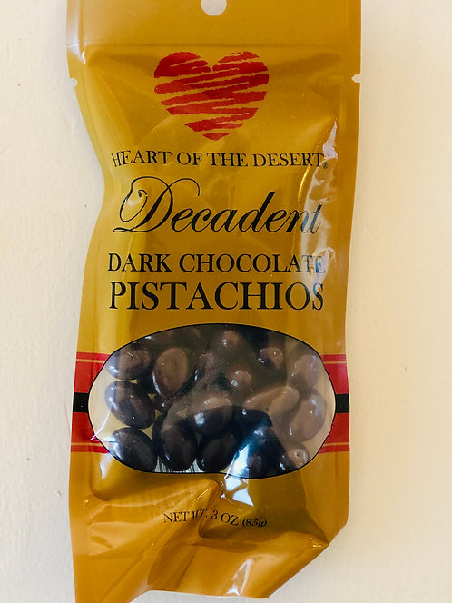 Heart of the Desert Chocolate Covered Pistachios