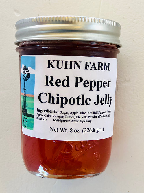 Kuhn Farm Red Pepper Chipotle Jelly (Large)