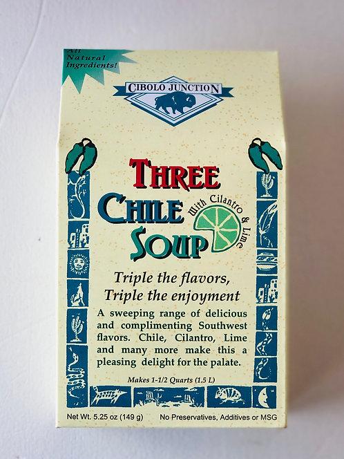 Cibolo Junction Three Chile Soup Mix