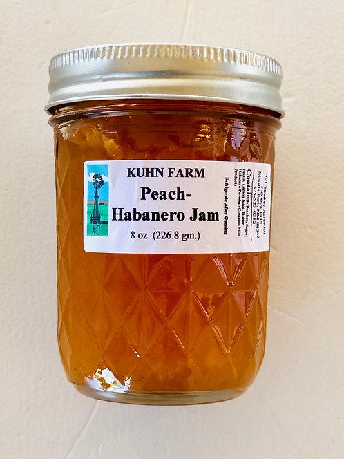 Kuhn Farm Peach-Habanero Jam