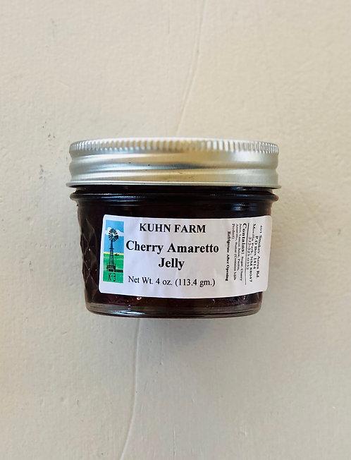 Kuhn Farm Cherry Amaretto Jelly