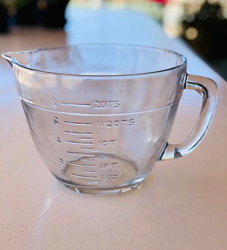 Glass Batter Bowl