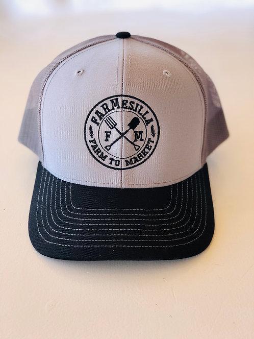 FARMesilla Circle Logo Trucker Hat