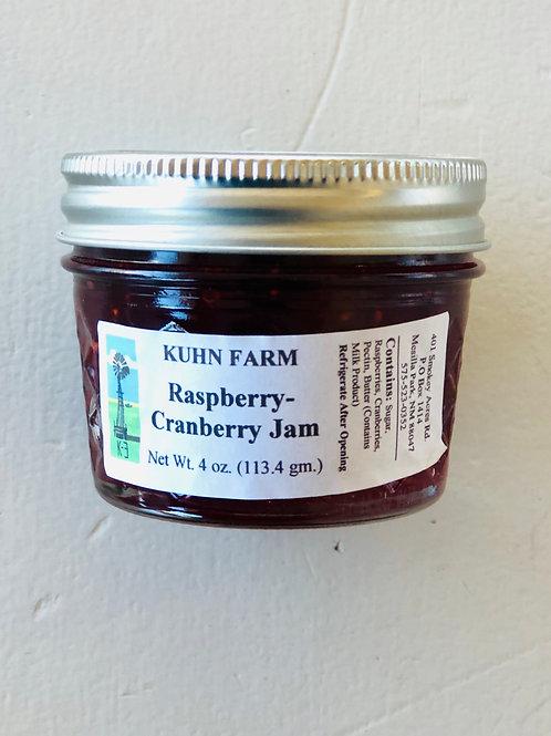 Kuhn Farm Raspberry-Cranberry Jam