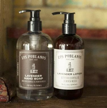 Los Poblanos Lavender Home Duo Gift Set