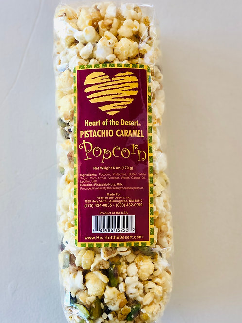 Heart of the Desert Pistachio Caramel Popcorn