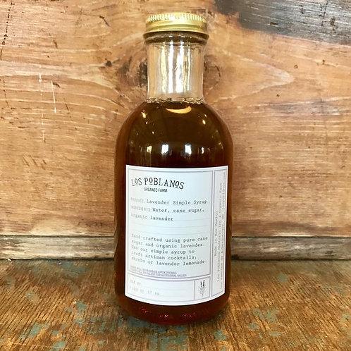 Los Poblanos Lavender Simple Syrup