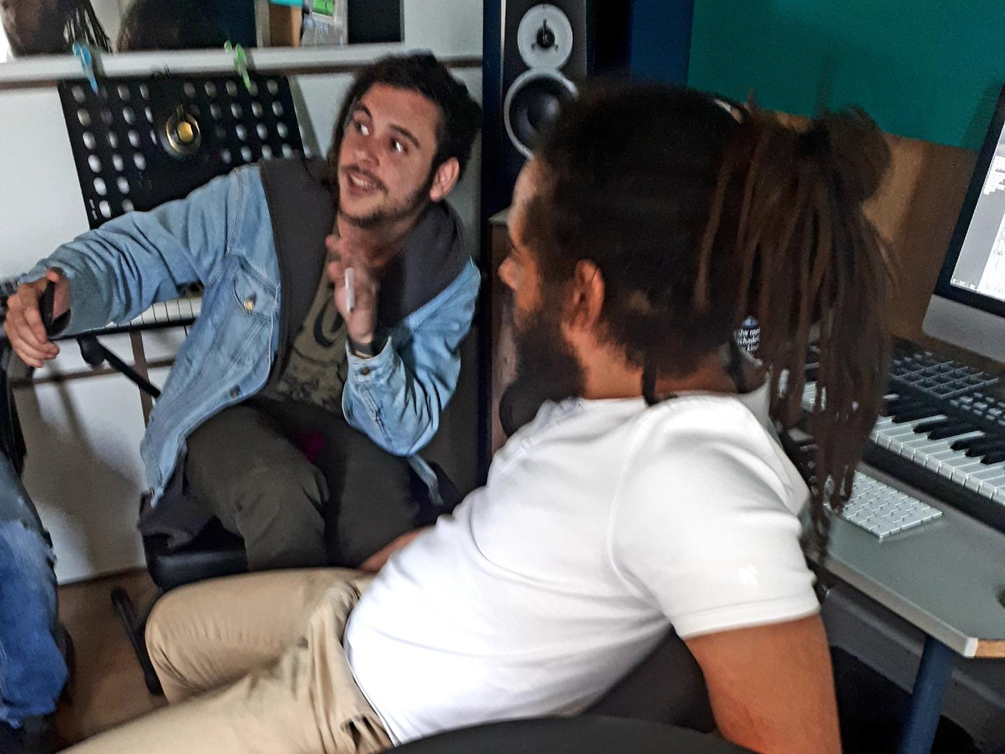 Ras David & Steve Hendrix @ Studio Independart