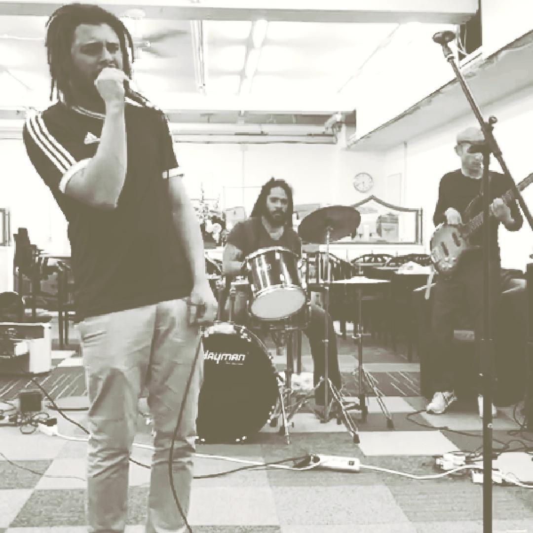 Ras David @ Live Show Rehearsal