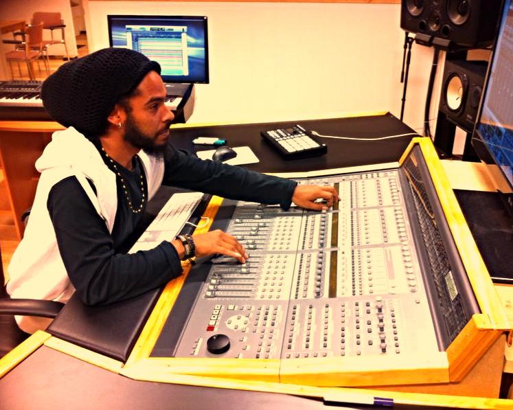 Steve Hendrix @ AVA Studio, Hilversum (NL)