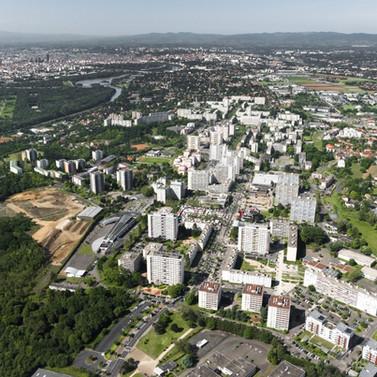 Maitrise d'œuvre urbaine et paysagère du centre-ville de Rillieux-la-Pape (69)