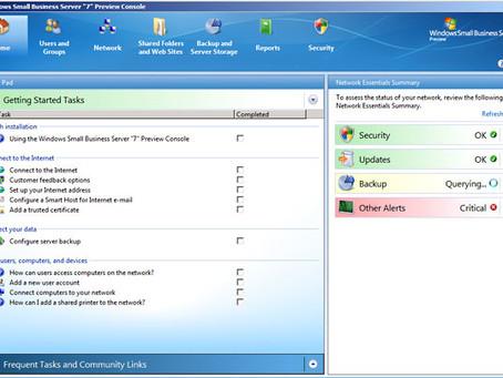 2012 Erwerb eines SBS2011 Server