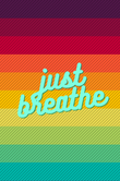 Just Breathe Daily Journal/ Diary