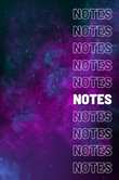Space Themed Notebook - Coming Soon