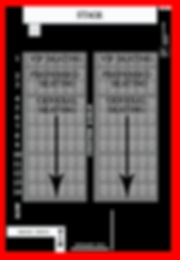 The Salem Haunted Magic Show Seating Map