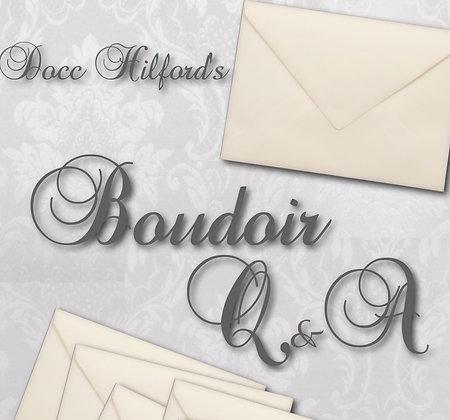 Boudoir Q&A