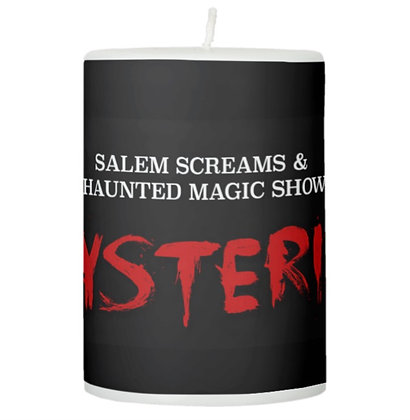 "Salem Magic Show 3""x4"" Pillar Candle"