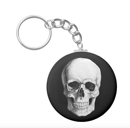 Salem Magic Show Skull Keychain