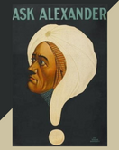 Ask Alexander Notebook - 8x10 - 200 pages
