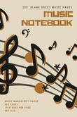 Blank Music Notebook