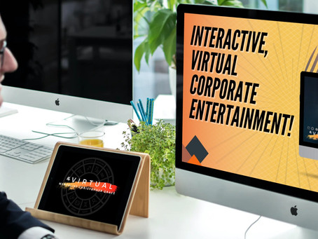 How To Add Entertainment to Your Company's Next Virtual Meeting!