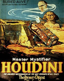 Houdini - Buried Alive Notebook - 8x10 - 200 pages