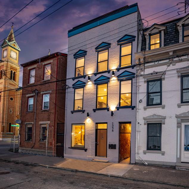 Twilight Photo - Downtown Cincinnati