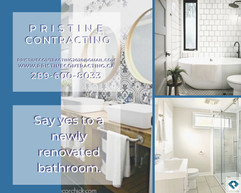 say Yes to a newly renovated bathroom in