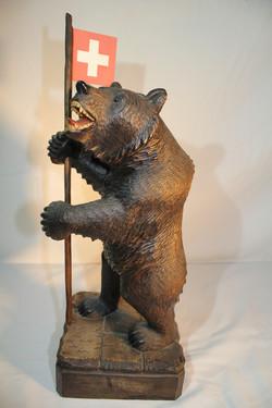 Sculpture ours de Brienz
