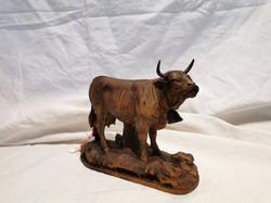 Sculpture vache