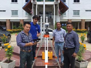 ส่งมอบเครื่องรับสัญญาณดาวเทียม CHC ให้กับสำนักงานช่างรังวัดเอกชนวงศ์ดีเลิศ และ สำนักงานช่างรังวัดเอก