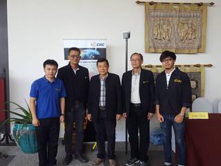 บริษัทได้ร่วมออกบูธเพื่อรองรับการรังวัด RTK Network ของกรมที่ดิน