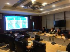 บริษัท CHC Navtech Thailand ได้จัดอบรมการรังวัดด้วยระบบดาวเทียม GNSS ส่วนพัฒนาการรังวัดหมุดหลักฐานแผ