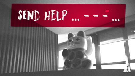 SEND HELP … - - - …